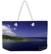 Caribbean Breeze Eight Weekender Tote Bag