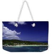 Caribbean Breeze Nine Weekender Tote Bag