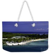 Caribbean Breeze Ten Weekender Tote Bag