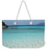 Caribbean Celeste Fresh Weekender Tote Bag