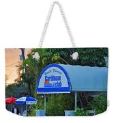Caribbean Club Key Largo Weekender Tote Bag