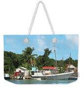 Caribbean - Docked Boats At Antigua Weekender Tote Bag