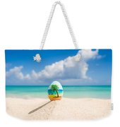Caribbean Easter Egg Weekender Tote Bag