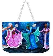 Caribbean Folk Dancers Weekender Tote Bag