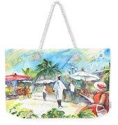 Caribbean Market Weekender Tote Bag
