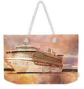 Caribbean Princess In A Different Light Weekender Tote Bag by Betsy Knapp