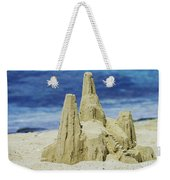Caribbean Sand Castle  Weekender Tote Bag