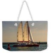 Caribbean Spirit Sails Miami Weekender Tote Bag