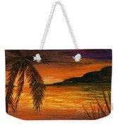Caribbean Sunset Weekender Tote Bag