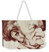Caricature Of Richard Wagner Weekender Tote Bag