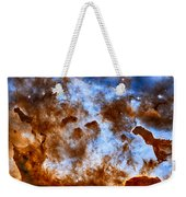 Carina Nebula-dust Pillars Weekender Tote Bag