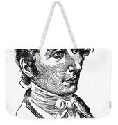 Carl Maria Von Weber (1786-1826) Weekender Tote Bag