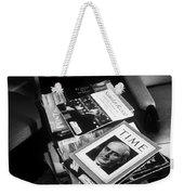 Carl Sandburg's Magazines  Weekender Tote Bag