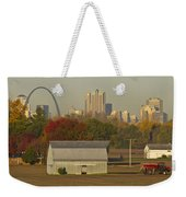 Carls Barn And The Arch Weekender Tote Bag