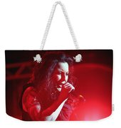 Carly And The Concert Lighting Weekender Tote Bag