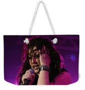Carly In Concert Weekender Tote Bag