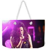 Carly On Stage Weekender Tote Bag