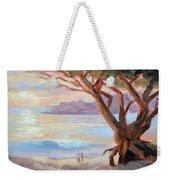 Carmel Beach Winter Sunset Weekender Tote Bag