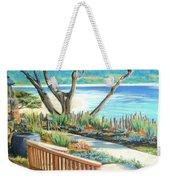 Carmel Lagoon View Weekender Tote Bag