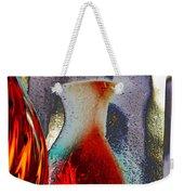 Carmellas Red Vase 1 Weekender Tote Bag by Kate Word