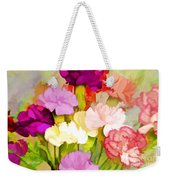 Carnation Bouquet Weekender Tote Bag