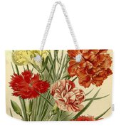 Carnations Weekender Tote Bag by Philip Ralley