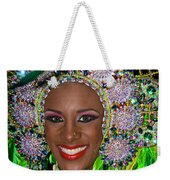 Carnaval Beauty Weekender Tote Bag