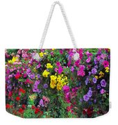 Carnival Flowers Weekender Tote Bag