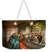 Carnival - Game - A Game Of Skill  Weekender Tote Bag by Mike Savad