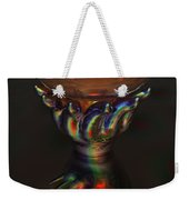 Carnival Glass Bulb Sprouter  Weekender Tote Bag