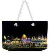 Carnival Life At Night 01 Weekender Tote Bag