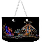 Carnival Rides At Night 04 Weekender Tote Bag