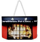 Carol House Quick Fix Pet Clinic Weekender Tote Bag