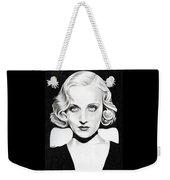 Carole Lombard Weekender Tote Bag