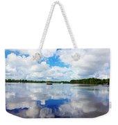 Carolina Blue- Washington Nc Weekender Tote Bag by Joan Meyland