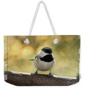 Carolina Chickadee With Decorative Frame IIi Weekender Tote Bag