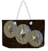Carolina Wren - Thryothorus Ludovicianus Weekender Tote Bag