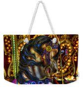 Carousel Beauty Waiting For A Rider Weekender Tote Bag