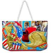 Carousel Chariot Weekender Tote Bag
