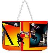 Carousel Horse Fireman 04 In Teal Weekender Tote Bag