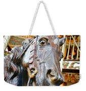 Carousel Horse Head Weekender Tote Bag
