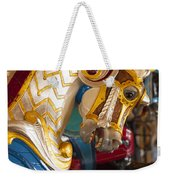 Colorful Carousel Merry-go-round Horse Weekender Tote Bag