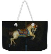 Carousel Horse Painterly Weekender Tote Bag