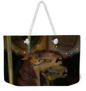 Carousel Horses Painterly Weekender Tote Bag