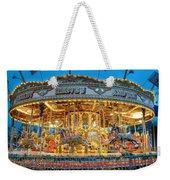 Carousel In Bournemouth Weekender Tote Bag