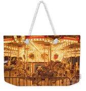 Carousel Night Lights Weekender Tote Bag