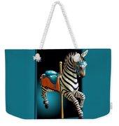 Carousel Zebra Weekender Tote Bag