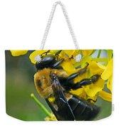 Carpenter Bee Weekender Tote Bag