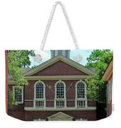 Carpenters Hall In Philadephia Weekender Tote Bag