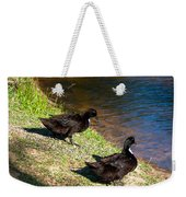 Carpenters Park-ducks Weekender Tote Bag